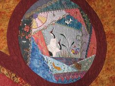 Quilting All Over the World (detail)