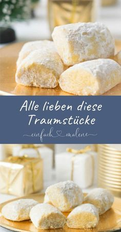 Delicate dream pieces, all love these great Christmas biscuits! This little dedication . - Delicate dream pieces, all love these great Christmas biscuits! These little Christmas biscuits are - Easy Cookie Recipes, Cake Recipes, Dessert Recipes, Desserts, Christmas Biscuits, Christmas Cookies, Christmas Chocolate, Chocolate Cake Recipe Easy, Chocolate Recipes