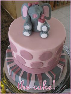 Elephant Baby Shower on http://pizzazzerie.com    ----For Kelly's shower----Advice Cards: The elephant detail was perfect – darling elephant pen toppers and paper clips.