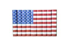 S/9 American Flag Cover Books