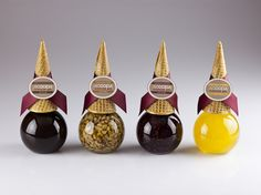 Scoops Ice Cream Toppings.  Very clever, I would buy this #packaging PD