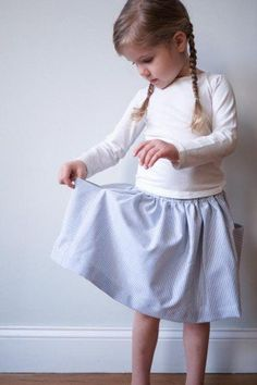 Gathered Skirt for All Ages   Purl Soho