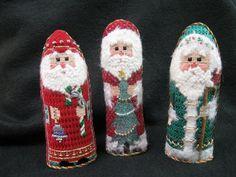 Wee Santas - at Quail Run Needlework