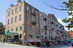 River walk, Savannah, Ga, I have been here and this candy store is THE BEST!!