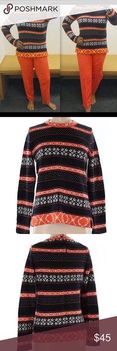 Vintage Nordic Fair Isle Sweater Pullover | Fair isles, Pullover ...