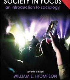 Society In Focus: An Introduction To Sociology Census Update 7th Edition PDF