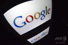 タブレット端末画面に映し出された米IT大手グーグル(Google)のロゴ(2012年12月4日撮影)。(c)AFP/LIONEL BONAVENTURE ▼5Aug2014AFP|米グーグル、児童ポルノ所持の利用者を通報 http://www.afpbb.com/articles/-/3022321 #Google