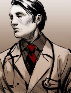 Hannibal dressed as a Doctor. Credit: http://domandeirrisolte.tumblr.com/post/118621305099/feredir-telerafairlyreie-requested-hannibal