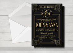 Etsy で見つけた素敵な商品はここからチェック: https://www.etsy.com/jp/listing/273512058/gold-wedding-invitation-printable-gold