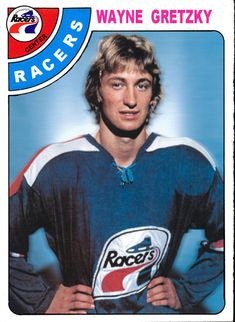 WHA Indy Racers Wayne Gretzky's pro team, before he was traded to Edmonton Oilers. O Pee Chee Wayne Gretzky, Indianapolis Racers, Hockey Cards That Never Were Rink Hockey, Hockey Games, Hockey Mom, Stars Hockey, Hockey Logos, Hockey Quotes, Blackhawks Hockey, Chicago Blackhawks, Hockey Pictures