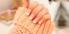 Nails, Manicures and Nail Art - Nail Polishes for French Manicure- French Manicure Nail Art Designs - french manicure designs pictures - nail tip designs. French Nails, French Manicure Nails, Nude Nails, Nail Tip Designs, French Manicure Designs, Nails Design, Spring Nail Art, Spring Nails, Acrylic Nail Shapes