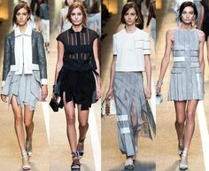 Fendi Spring 2015 RTW Collection at Milan Fashion Week #mfw