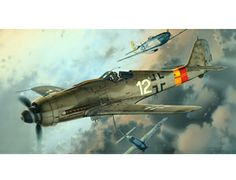 The Eduard Focke Wulf Fw 190D-9 PROFIpack in 1/48 scale from the plastic aircraft model range accurately recreates the real life German fighter aircraft flown during World War II. This plastic aircraft kit requires paint and glue to complete.