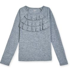 A must have for the girliest of girls! Self ruffles bring this basic from simple to special. www.kidpik.com