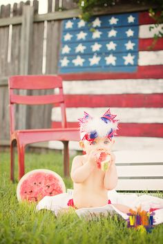 Look at those eyes!!! Fourth of July, july 4th, mini session , 4th of july