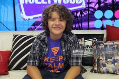 Gaten Matarazzo from 'Stranger Things' visits the Young Hollywood Studio on September 6, 2016 in Los Angeles, California. (Photo by Mary Clavering/Young Hollywood/Getty Images).