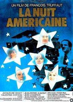 1973 ‧ Drame/Comédie dramatique ‧ 1h 56m de François Truffaut avec François Truffaut, Jacqueline Bisset - Splendeurs et misères d'une équipe de tournage dans les studios de la Victorine à Nice, au moment de la conception d'un film.