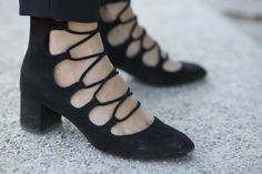 Street style #details at #PFW - More fashion week action on The Hub