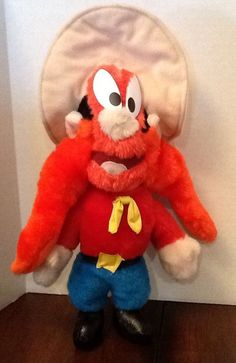 "Yosemite Sam 12"" plush Looney Tunes Warner Bros Sold $9.99"