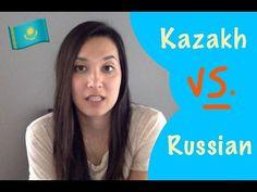 Kazakh VS. Russian (10 Words in Each Language) - YouTube