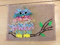 Kuva: Miia Kemppainen 2.lk ryijypistopöllöt Rya Rug, Textiles, Embroidery, Rugs, Crafts, Diy, School, Farmhouse Rugs, Needlepoint