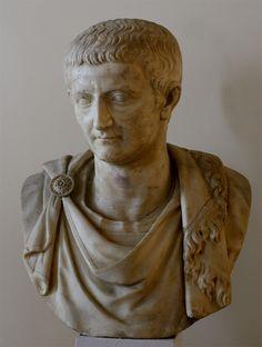 "Tiberius. Type ""Imperium maius."" Greek marble. Ca. 13 CE. Inv. No. 143. Venice, National Archaeological Museum"