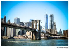 the brooklyn bridge over east river