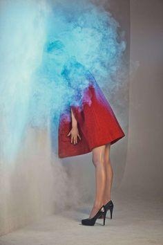 Smoke by Sebastian Szwajczak is Colorful and Mysterious #photography trendhunter.com