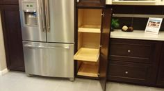 Possible pantry pullouts