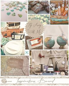 Fly Away With Me Inspiration Board