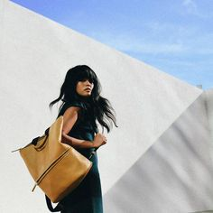 noguchi's california scenario - Lust for Life by Olivia Lopez Olivia Lopez, Lust For Life, Black Leather Backpack, Madewell, Photoshoot, Backpacks, Street Style, Tote Bag, Instagram Posts
