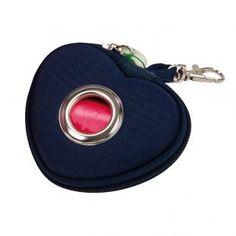 Portasacchetti Cuore blu -