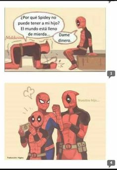 Read Lodo from the story Shipps Marvel (Imagenes & Comics) by Mrmiau-HMR (Jüda) with reads. Marvel Dc, Marvel Heroes, Deadpool Y Spiderman, Spaider Man, Venom Comics, Best Superhero, Mundo Comic, Attack On Titan Anime, Spideypool