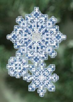 Snowflakes - Cross Stitch Patterns & Kits - 123Stitch.com
