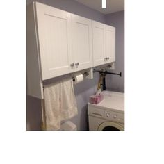 Glacier Bay 27 In X 25 In X 12 In Laundry Wall Cabinet Wall Cabinetslaundry Roomhome Depot Glacier