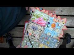 Teesha Moore's fabric journal covers- part 3 of 4. Wonderful series!