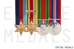 Miniature Medal Court Mounting – Empire Medals