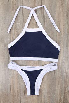 Summer Womens Palm Tree Bikinis Set Women Padded Crop Top Push Up Bikini Tank Brazilian Swimwear Bathing suit Swimsuits