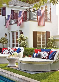 Get your backyard ready for summer and July 4th!