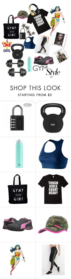 """""""🏋️🏋️ ♀️Tough Girls Squat Heavy🏋️ ♀️"""" by maijah ❤ liked on Polyvore featuring WALL, NIKE, Ellie Ellie, PUMA Safety, Puma, Gap and Kismet by Milka"""