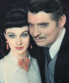 Vivien Leigh and Clark Gable for 'Gone With the Wind'.