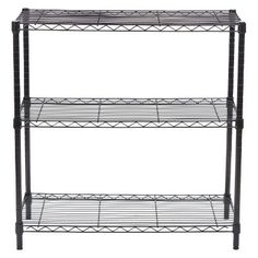 Need more storage in your space? Add a wire shelf to hold