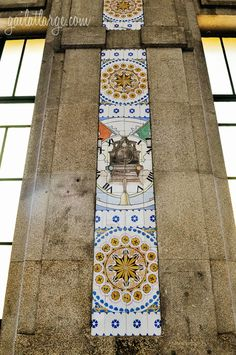 azulejos of São Bento Railway Station, Porto Glazed Tiles, Portuguese Tiles, Pavement, Tile Art, Bento, History, Architecture, City, Travel