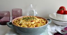 Okra, Macaroni And Cheese, Food And Drink, Lunch, Meals, Ethnic Recipes, Noodles, Mac And Cheese, Gumbo