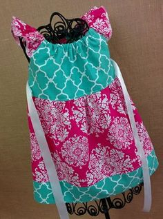 'Flutter sleeve dress Price: $25 Size shown: 6/9 mo Can be made in sizes 6/9m-size 8'