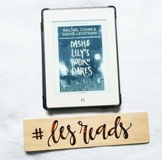 dash & lilys book of dares // rachel cohn & david levithan | A Day in the Life of Les....