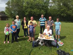 A Heavenly day out. Members getting together for a family picnic.