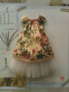 Liberty and Tulle Joni Dress set for Blythe