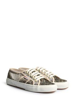 SUPERGA Sneakers Animal Net Braun Leo bei myClassico - Premium Fashion Online Shop