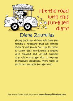 Welcome to Dover Publications My Car Trip Mini-Journal